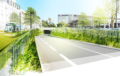Phytolab est lauréat pour la conception et la maîtrise d'œuvre de l'aménagement des espaces publics de la Gare Nord de Nantes !