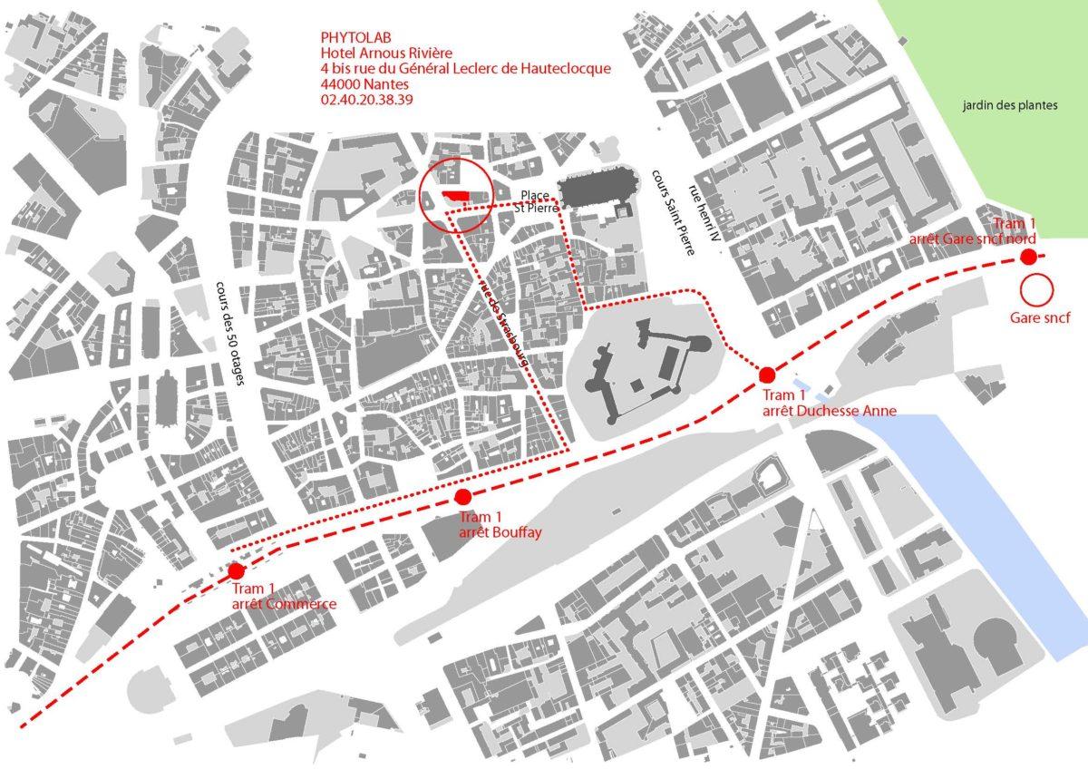 Phytolab s'installe dans de superbes locaux au cœur du centre historique de Nantes