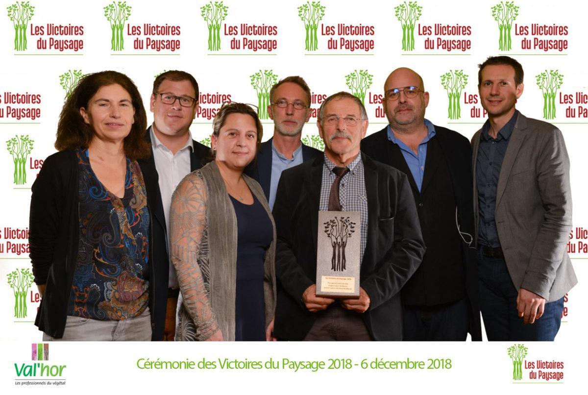 L'aménagement du Bout du monde à Angers récompensé!