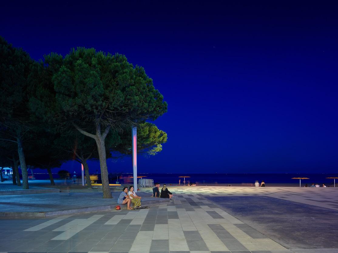 Le front de mer de Saint-Nazaire en lumière!