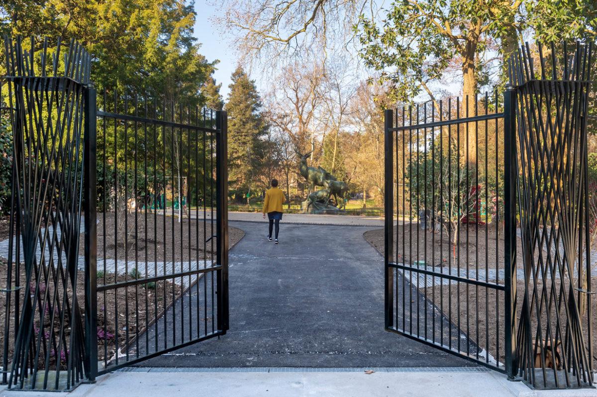 Une nouvelle entrée pour le Jardin des Plantes à Nantes