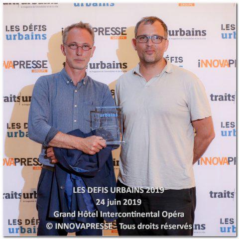 Les défis urbains 2019, le front de mer de Saint-Nazaire récompensé!