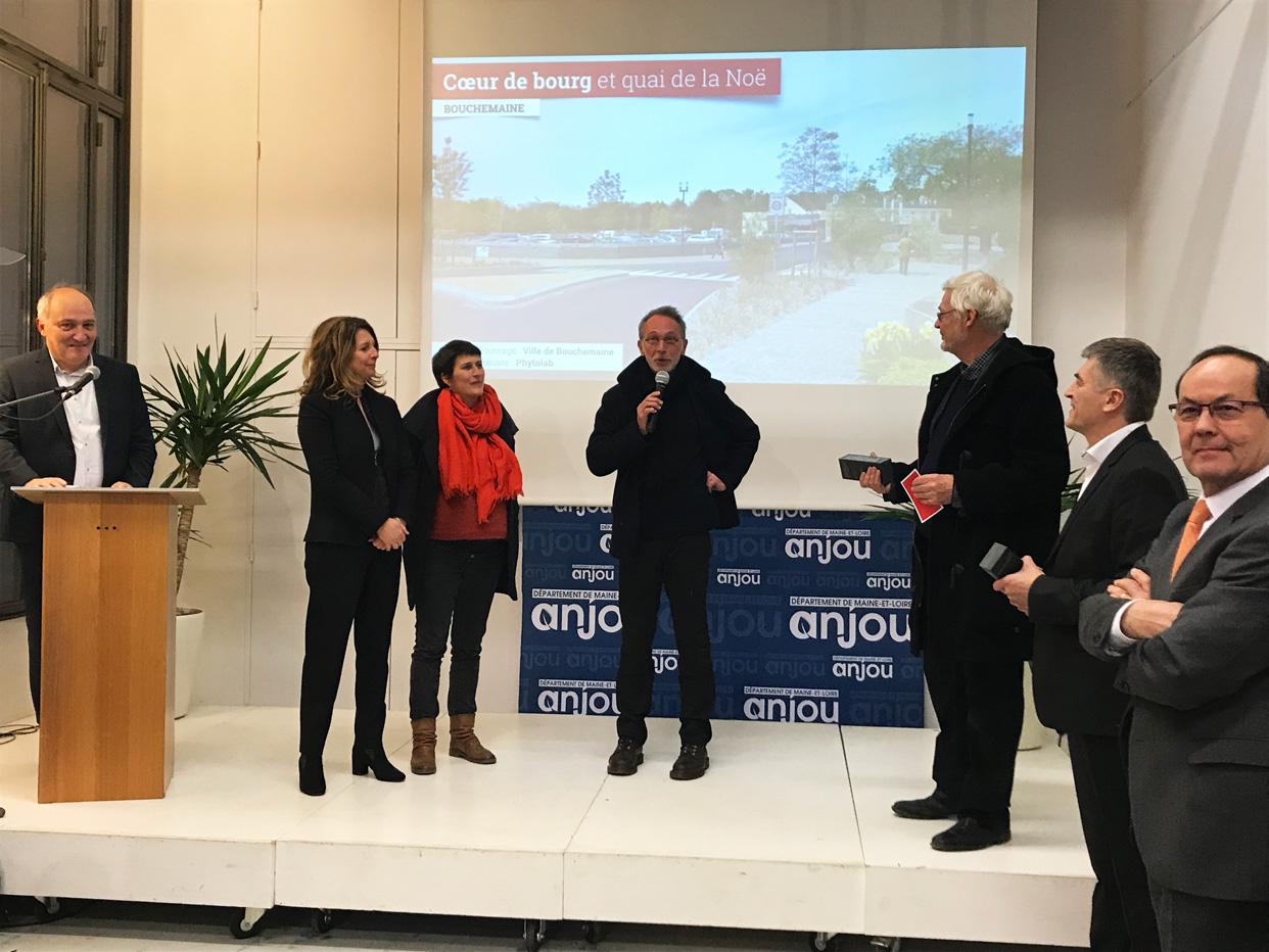 Le projet de Bouchemaine primé au prix Aperçu 2019 Maine-et-Loire