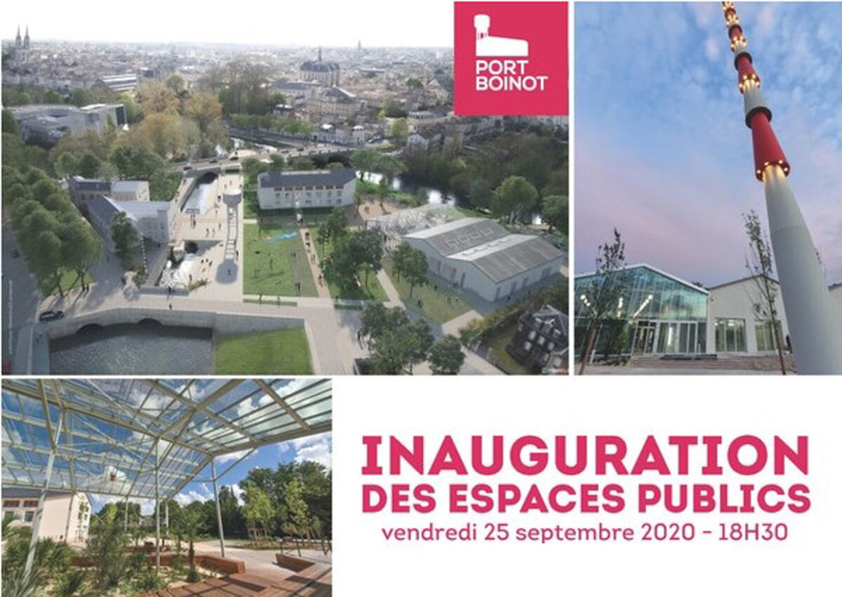 Inauguration à Niort
