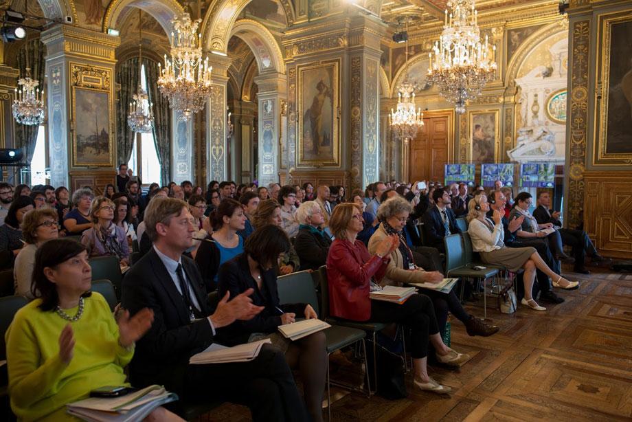 Rencontre internationale « Du vert à tous les étages », Paris