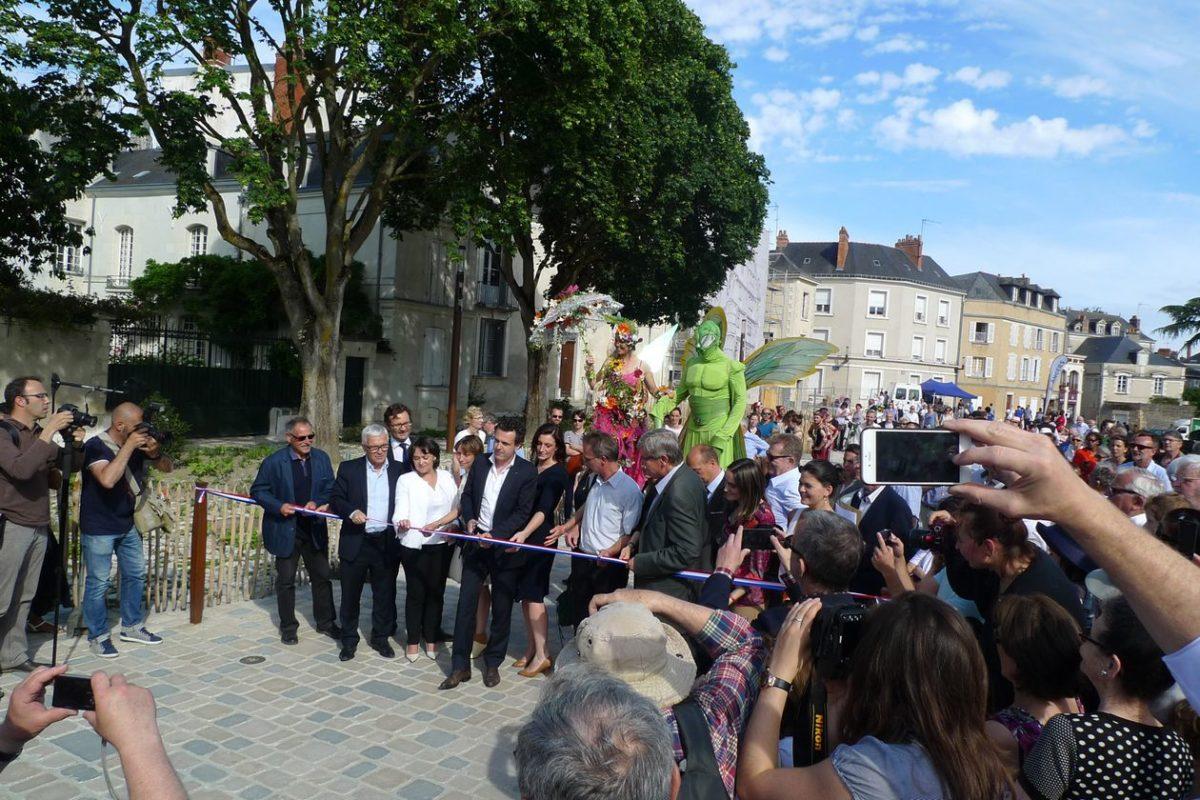 Inauguration du Bout du monde à Angers