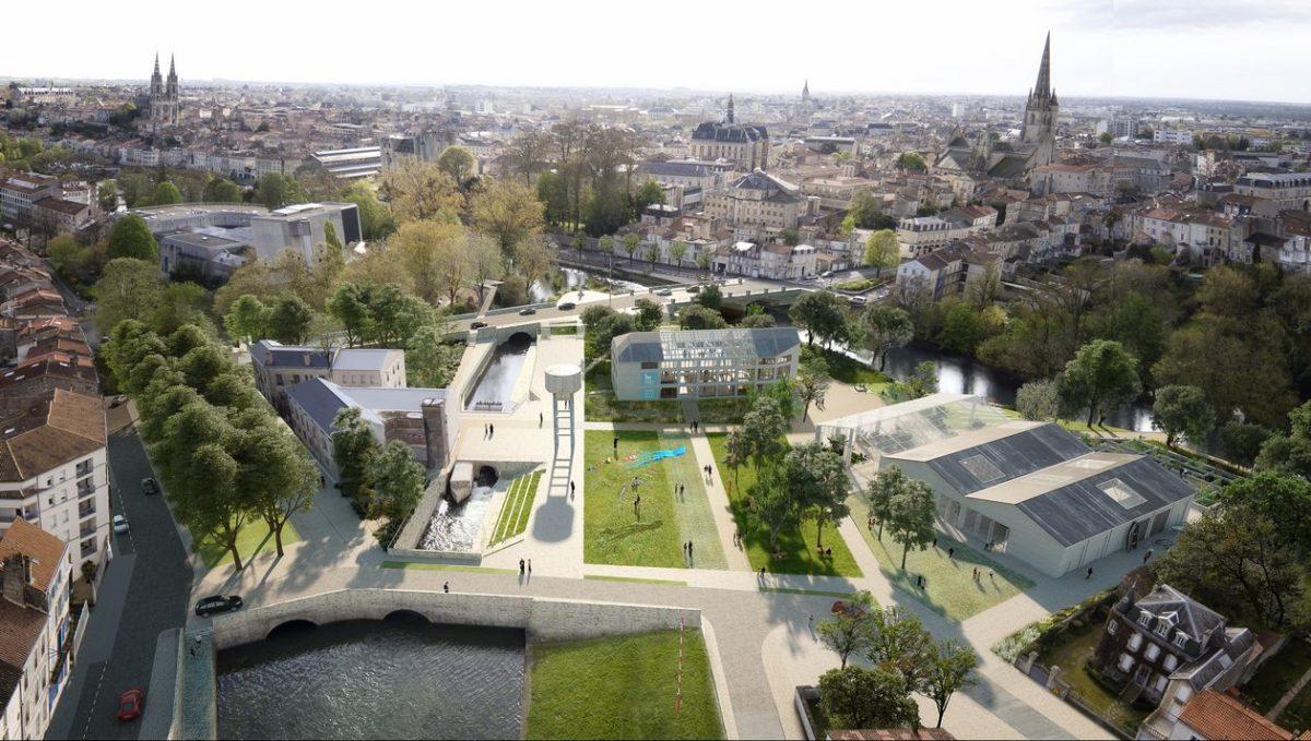 Phytolab est lauréat du concours de maîtrise d'œuvre urbaine, architecturale et paysagère du site de Port-Boinot à Niort!
