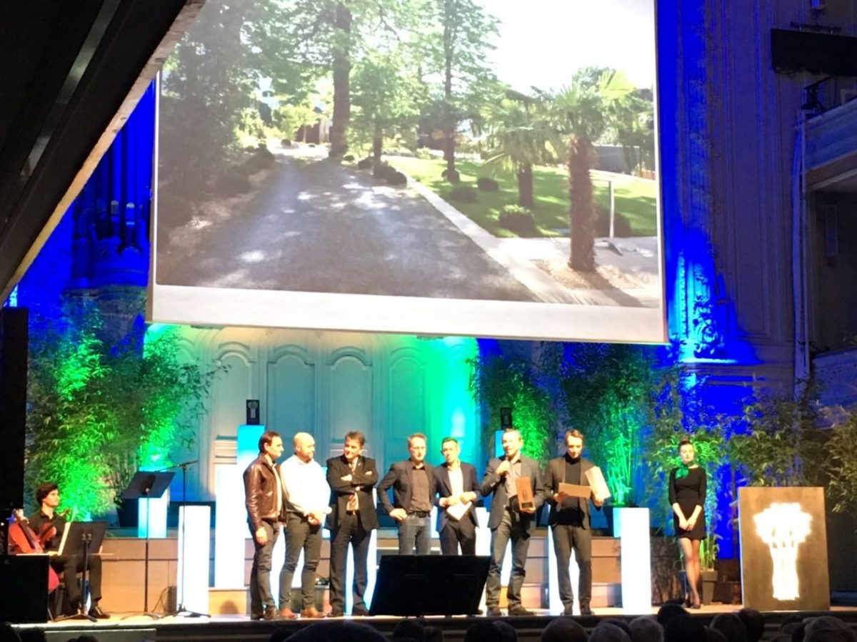 Deux prix gagnés aux Victoires du Paysage 2016