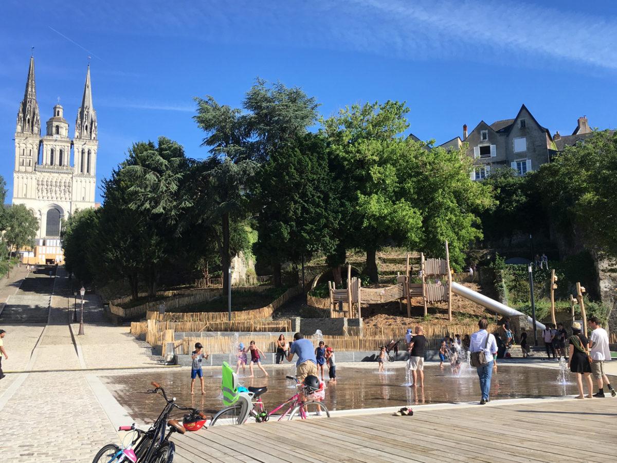 Inauguration de la promenade Jean Turc et du quai Ligny à Angers!