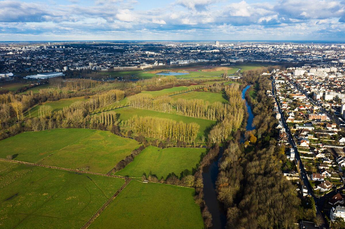 Forêt urbaine aux portes de Caen
